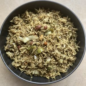 Same spices, different day, different dish: Goda Masala & Masalé Bhat