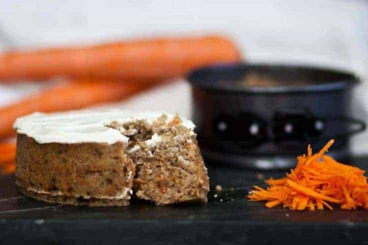 Instant Pot Keto Carrot Cake