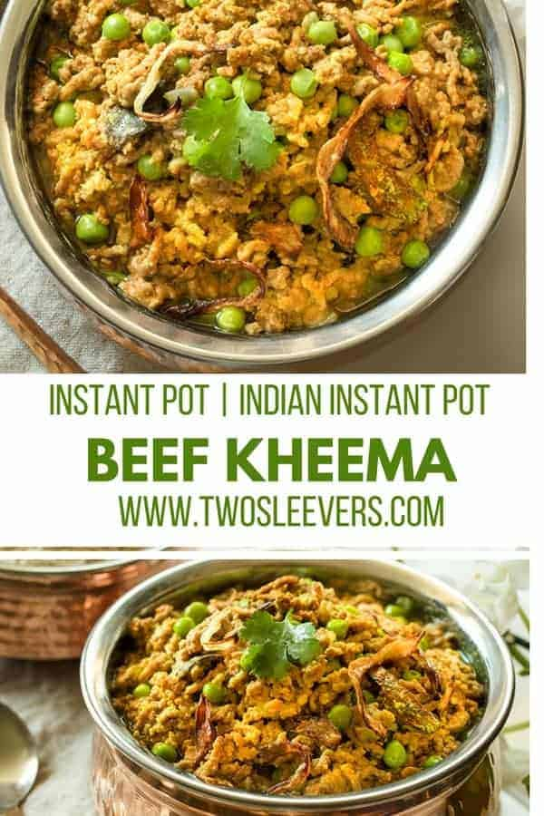This Instant Pot Keto Indian Kheema recipe is an easy family friendly keto dish that's gluten-free, keto, paleo and done in under 30 minutes. This is a great Instant Pot ground beef recipe that is quite different from the usual meatloaf recipes and taco recipes you probably see all over the web. Try this pressure cooker kheema and you may well have a new favorite!