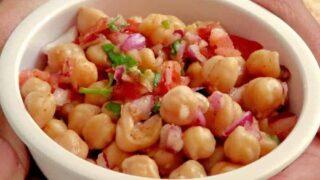 Instant Pot Vegan Indian Chana Salad Chickpea Salad