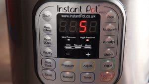Instant Pot 5 Minute Pressure Release