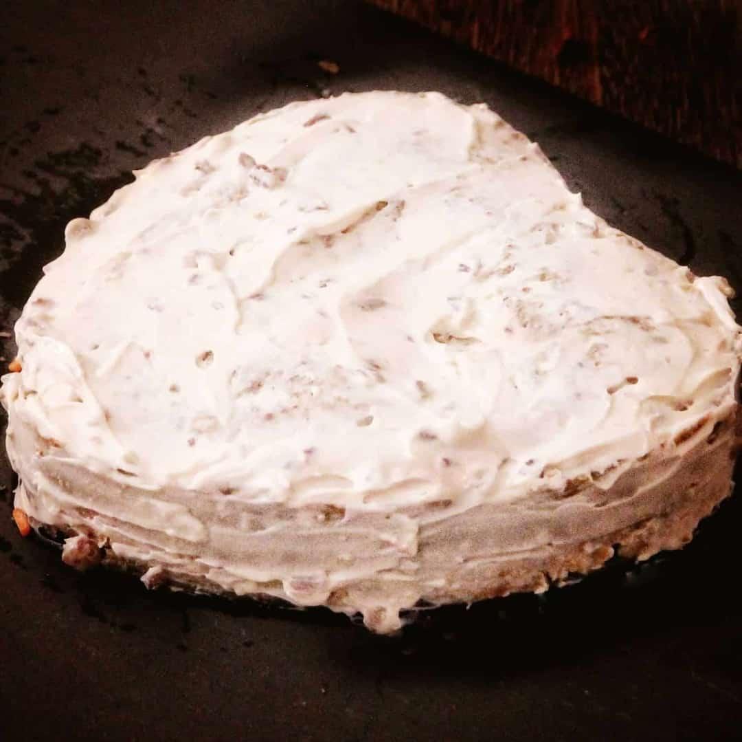 Pressure Cooker Keto Almond Carrot Cake