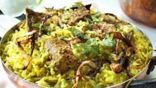 Instant Pot Kacchi Lamb Dum Biryani