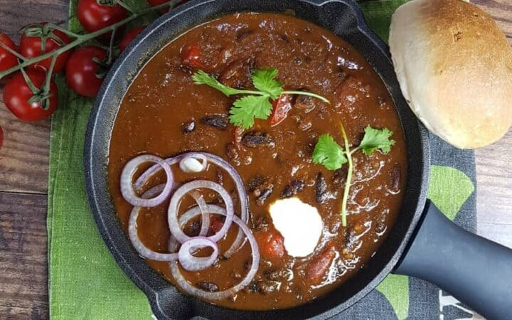 Instant Pot Indian Rajma Kidney Beans Wide