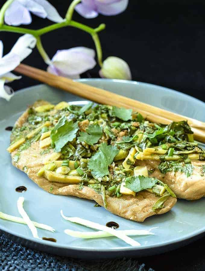 instant pot steamed fish