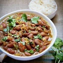 Instant Pot Vegan Indian Rajma Red Kidney Beans