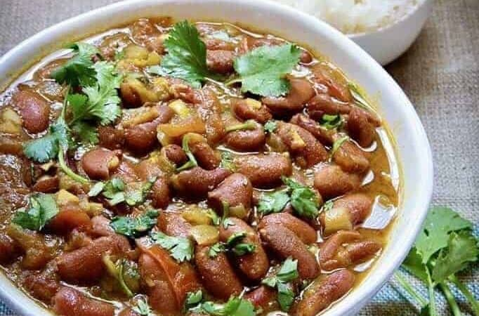 Instant Pot Rajma Red Kidney Beans. A creamy, hearty, nutritious vegetarian Indian dish that cooks in your pressure cooker in 30 minutes. Enjoy this classic Punjabi dish at home.