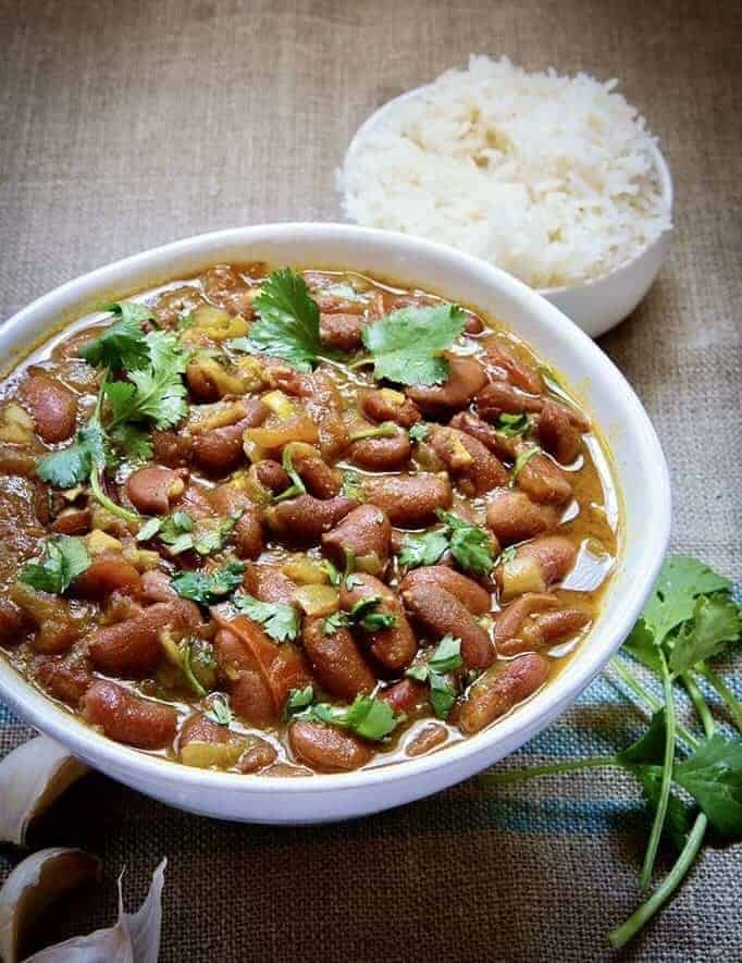 Instant Pot Vegan Indian Rajma Red Kidney Beans