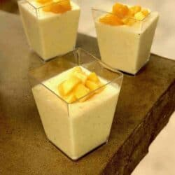 Low carb Keto Mango Panna Cotta sets up quickly and is a refreshing summer dessert. The creamy taste of the panna cotta combined with the sweet mango makes it very luscious.