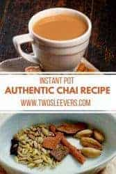 Instant Pot Chai | Chai recipe | Chai Tea recipe| Instant Pot drink recipes| Instant pot Drinks|