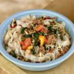 Instant Pot Keto Pork and Vegetables with Noodles