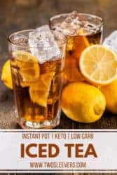 instant pot iced tea