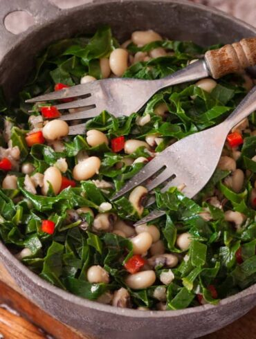 vegetarian black eyed peas recipe