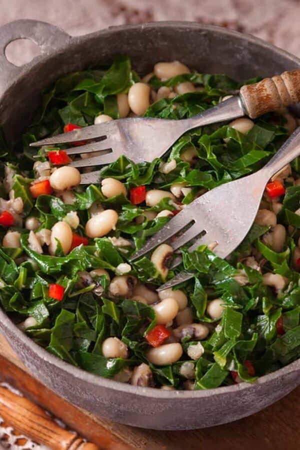 vegetarian black eyed peas recipe
