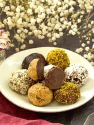 Keto chocolate truffles