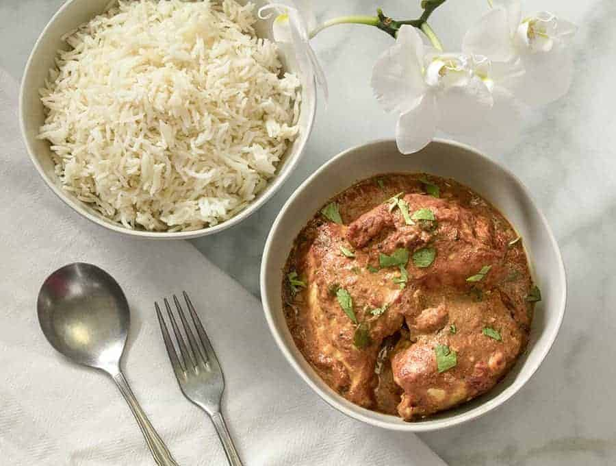 butter chicken questions