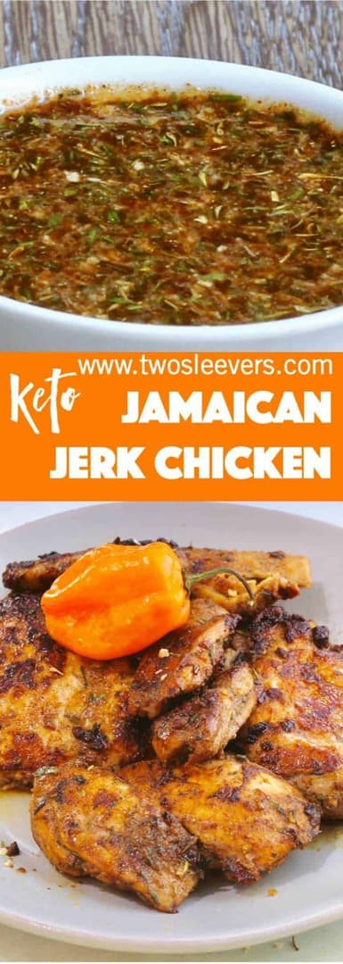 Jerk chicken made with the Spice House mix. Literally the best, and easiest jerk chicken I've ever had, and super easy to boot. Highly recommend this mix!
