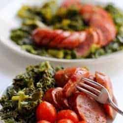 Instant Pot Keto Sausage and Kale