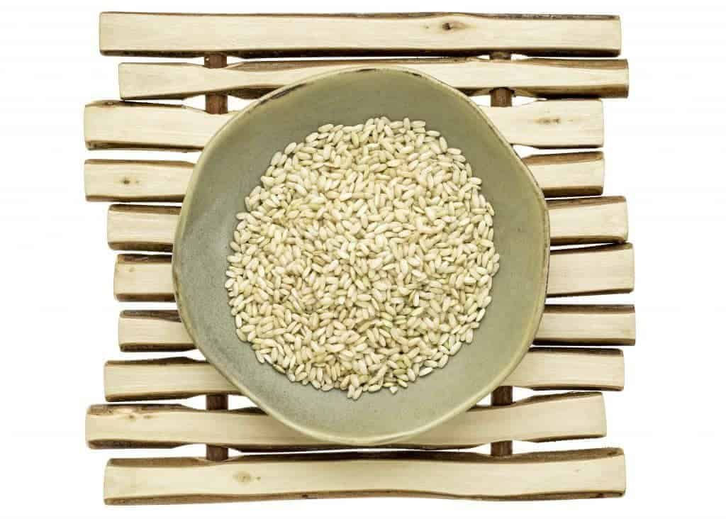 Make your own Instant Pot Hapa rice by combining white rice with sprouted brown rice..A healthwful way to start to add brown rice into your diet.