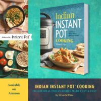 Indian Instant Pot cookbook.