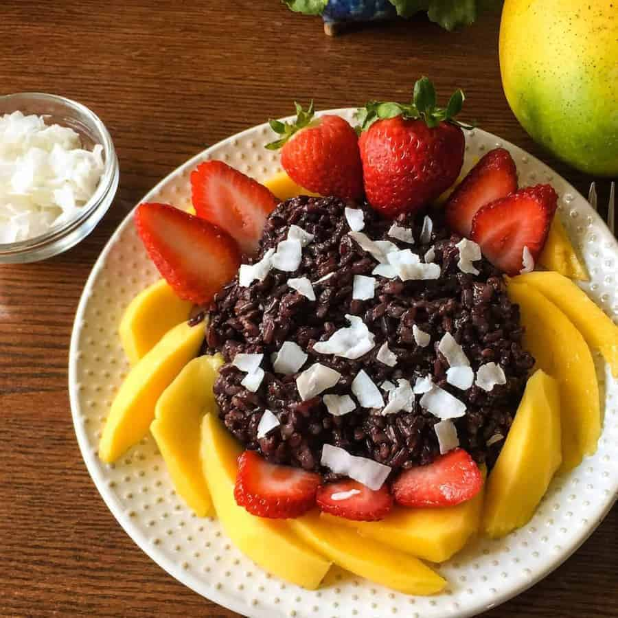 This very simple recipe for perfect black rice in your pressure cooker may well make you finally put away your rice cooker, and start using your Instant Pot or Pressure Cooker to make perfect black rice pudding each time.