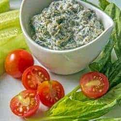 Borani Persian Yogurt Spinach Dip – Two Sleevers