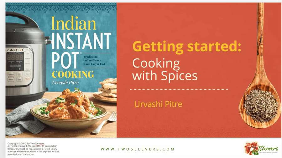 Free cooking with indian spices pdf two sleevers learn how to cook with a variety of indian spices forumfinder Image collections
