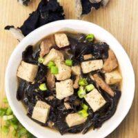 Instant Pot Low Carb Hot and Sour Soup