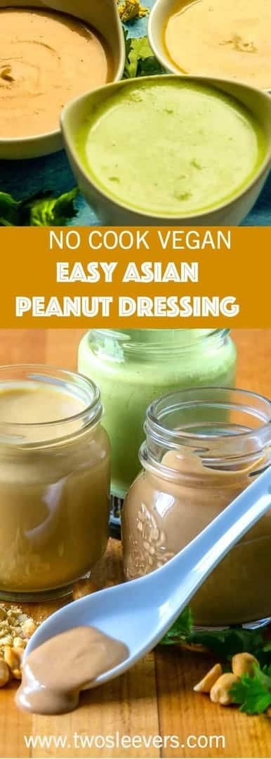 This Easy Asian Peanut Dressing is so versatile, and so easy, you'll wonder why you haven't made it before. It is fast, savory, and delicious.