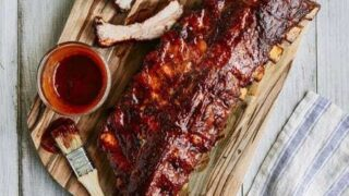 Easy Smoky Pressure Cooker Ribs