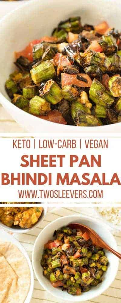 Sheet Pan Bhindi Masala