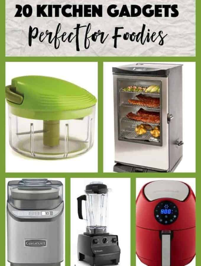 Best kitchen gadget for foodies. From ice-cream makers and smokers, to air fryers, immersion blenders and zesters, these are the most used gadgets in my kitchen.