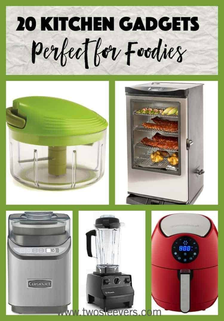 Top 20 kitchen gadgets for foodies two sleevers Best kitchen gadgets