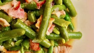Pressure Cooker Green Beans with Bacon