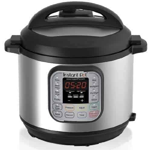 Instant Pot DUO60 6 Qt 7-in-1 Multi-Use Programmable Pressure Cooker,