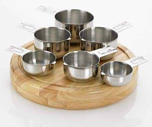Bellemain Stainless Steel Measuring Cup Set, 6