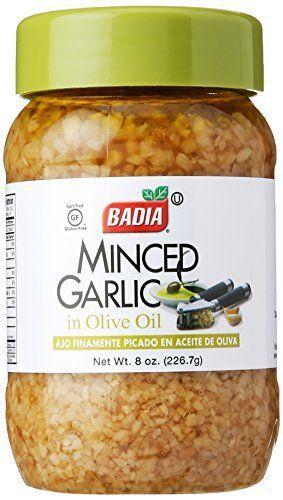 Badia Minced Garlic, 8 oz