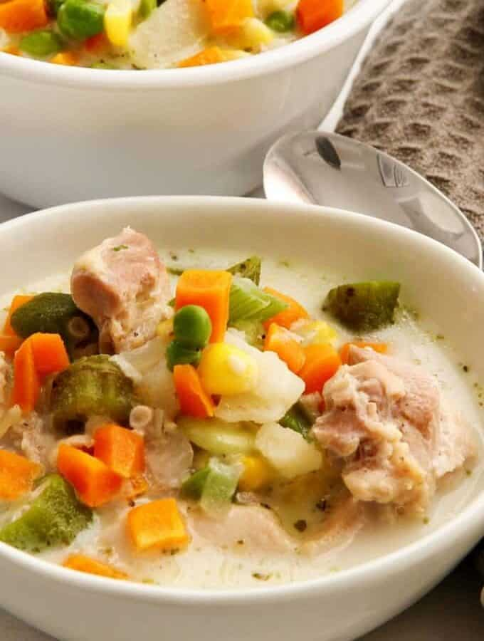 Creamy Chicken Soup Featured Image