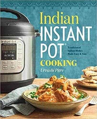 Indian Instant Pot Cookbook let's you make great, authentic Indian Food in your pressure cooker in less than an hour.