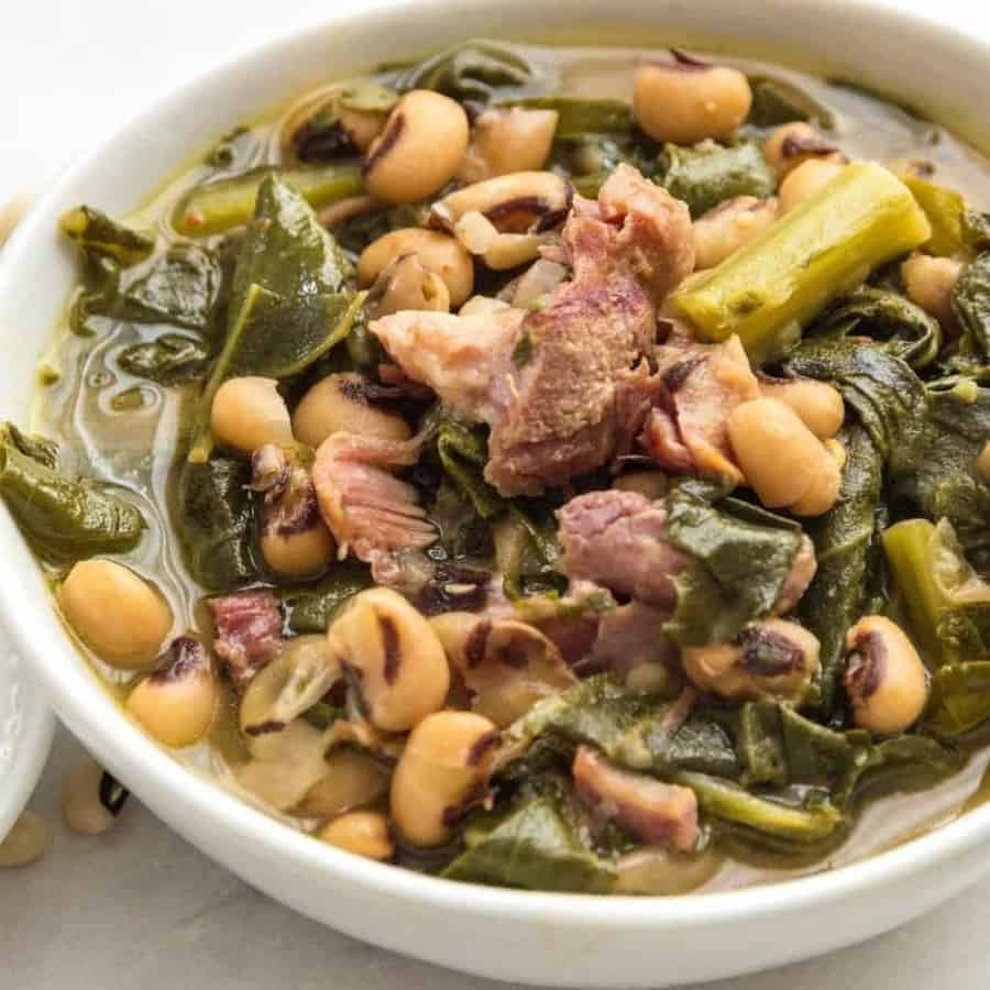 Pressure cooker southern style beans and greens two sleevers dump and cook southern style beans and greens cook up fast and creamy in your pressure forumfinder Choice Image