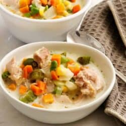 Pressure Cooker Creamy Chicken Soup