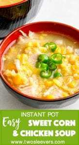 Indian-Chinese version of sweet corn and chicken soup is a fast, comforting meal that is kid-friendly, while having plenty of flavor for the grown-ups.This is also the perfect recipe for those of us who have auto-immune or other diseases when we can't stand for long periods and cook.