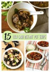 Enjoy these 15 instant pot low carb soups!