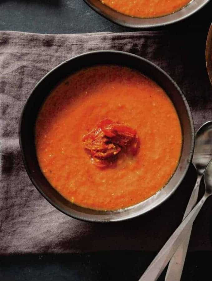 Tomato Coconut Soup