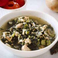 Instant Pot Low Carb Chicken Kale Soup