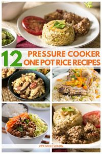 pressure cooker rice one pot meals