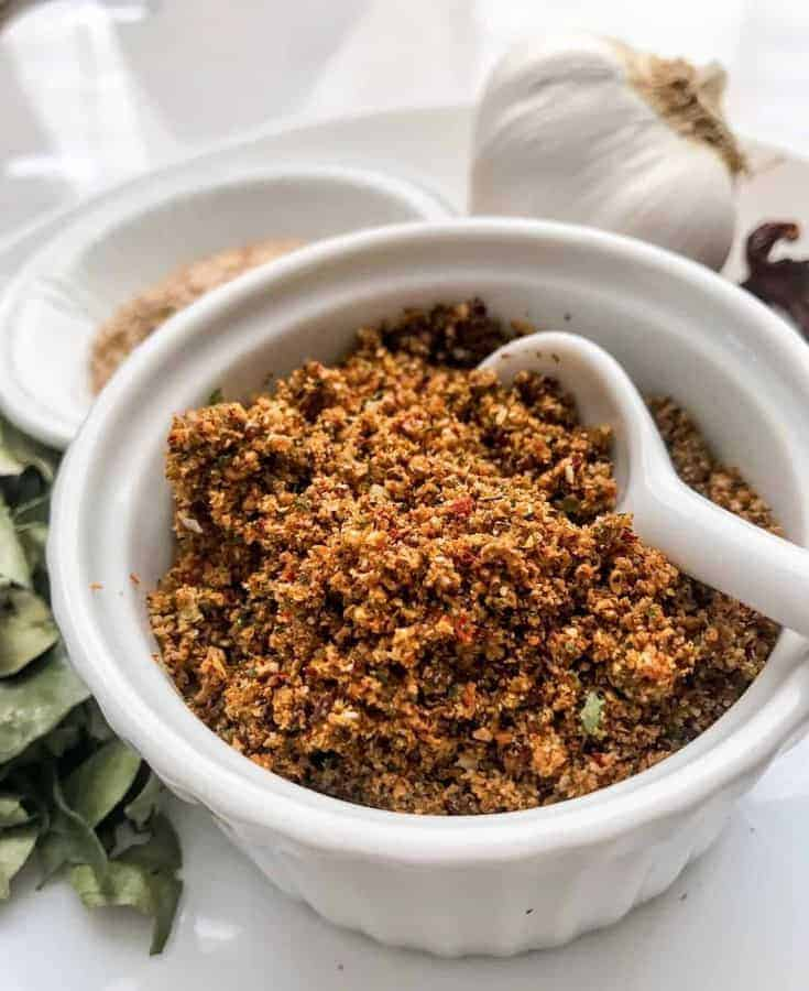 Indian Dry Sesame Garlic Chutney