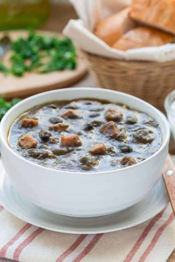 Keto Ham and Bean Soup Featured Image