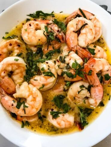 Keto Shrimp Scampi Featured Image