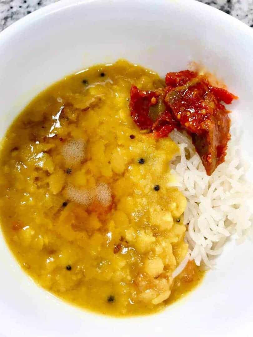 Pressure Cooker Rice And Dal Two Sleevers